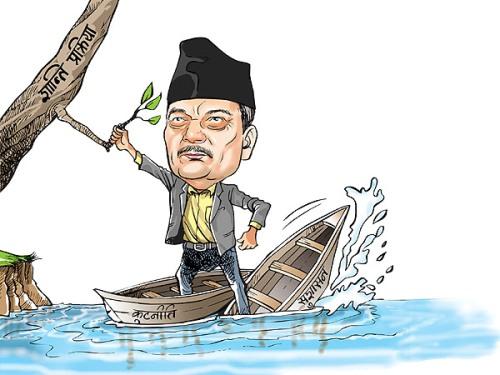 one hundred days of prime minister baburam bhattarai
