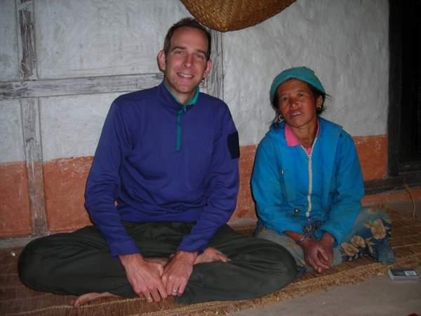Jeff Potter with Bishnu Maya Rai