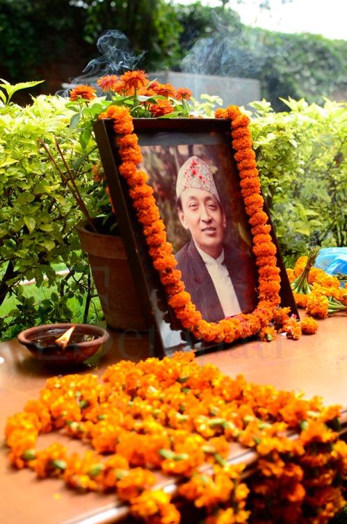 पूर्वप्रधानमन्त्री मरिचमान सिंह तस्बिर- प्रकाश लामा सेतोपाटी.कम