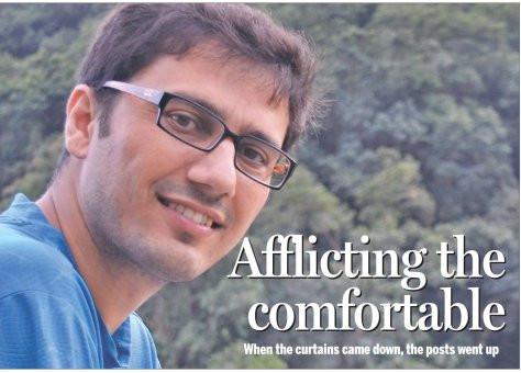 Dinesh Wagle interview with the Kathmandu Post