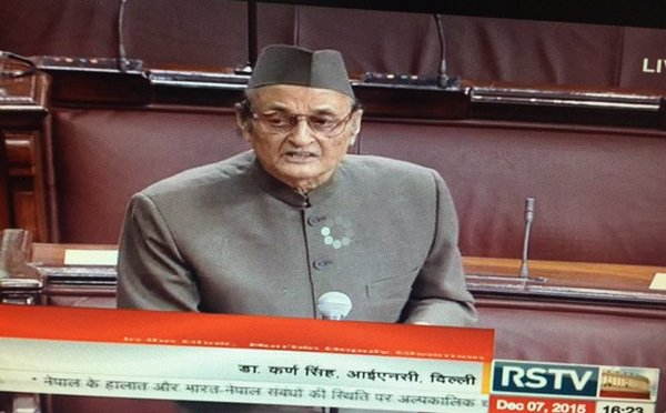 Debunking Dr. Karan Singh's Misinformed Comments on #Nepal at Indian Rajya Sabha