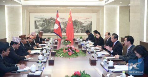 Nepal China talks in Beijing 25 December